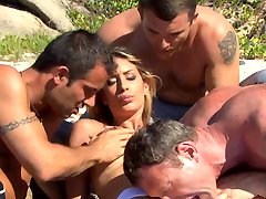 Pascal, Seb, Mike, & Lea Lazure AWESOME ANAL ((Cochinadas))