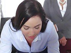 TeenCurves - Keisha Grey Fucks Submissive Secretary Karlee Grey