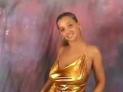 Model with huge tits bouncing dance compilation