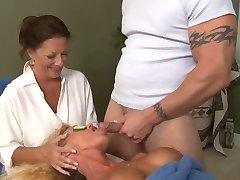No Better Facial Treatment - Tricked Into Special Cum Facial