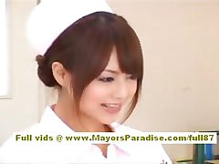 Akiho Yoshizawa Sexy Āzijas māsa bauda teasing ārsts