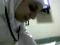 arapski medicinska sestra sisati kurac