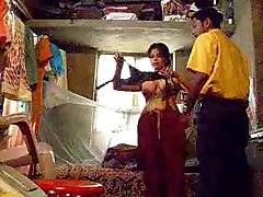 Indijas meitene blowjob