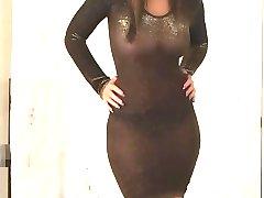 Christina Model zien door middel van Kleding (xednorton)