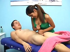 Hot Teen Handjob