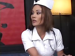 Cute Exotic Nurse Cures Her Patient By Sucking His Cock Dry