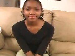 Anālais Liešanas Cute Black Pusaudžu