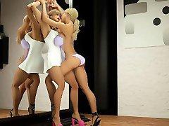 3D השטן והשדים לזיין בחורות!