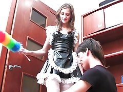 001 Angry Woman with Strap-on [Feminization]