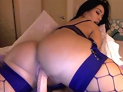 Latina Dildo Riding
