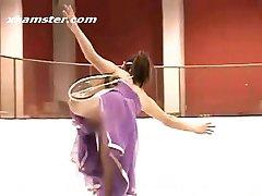 Sexy, hete momenten van sport - kunstschaatsen