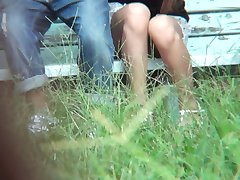 Spycam!! Broad daylight outdoor sex 4