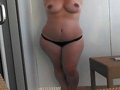 Wife Bikini Full strip