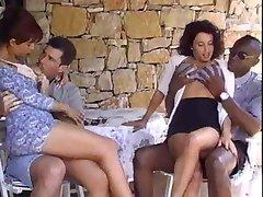 Stephania Sartori Foursome Part 1