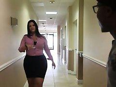 Kim Cruz Biroja Telpas Dick Sejas CFNM