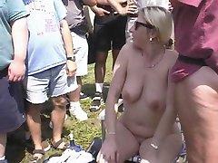 Fun at a Nudist rally 4