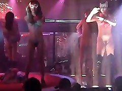 Japonské Striptýz Sex Show, Část 1