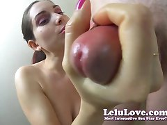 Lelu Love-You Won Blowjob Contest GIVING