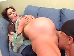 Nancy Vee - pregnant interracial anal