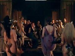 Spartacus: Orgia jelenet 01