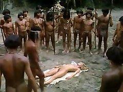pusaudžu blondīne fucked ar āfrikas trib