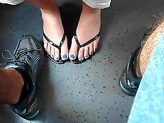 Blue Romps, Train Secret Footsi
