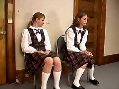 short spanking wedgie tweak