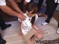 Japanese Cougar Rina Tomoa Gets Sprayed part2