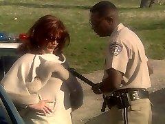 Rudmatis MILF Marilyn Chambers jāšanās policijas