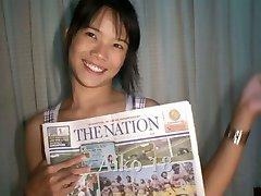 Taizemes meitene negrib sejas, bet tomēr izpaužas tā