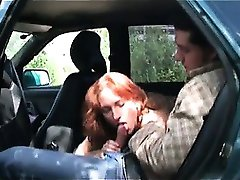Crazy redhead hoe blows stiff jizzster part4