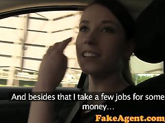FakeAgent Two hot amateurs impress in casting interview