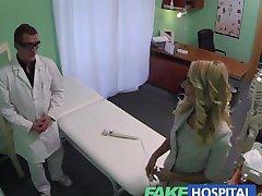 FakeHospital prodavatelj uhvaćen na kamere putem пизды prodati mamurluka kod doktora