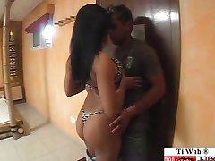 грубый бразильские девушки