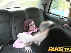 Fake Taxi Petite American redhead does anal