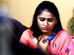 Telugu Hot Actrice Mamatha Romantiek Scannen Map In Droom