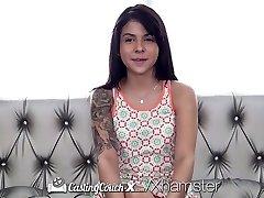 CastingCouch-X - Sadie Pop fucks aģents pirmais porno