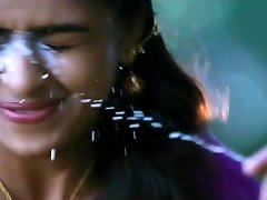 jism on sri divya face again and again tamil actress