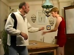 stepdaughter Helps step-father Forget About His Porno Mag !