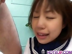 Nonoka is screwed so hard in pink crack by men