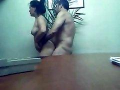 Karači biroja sekss boss sasodīti karsts, ķermeņa sekretārs Farah