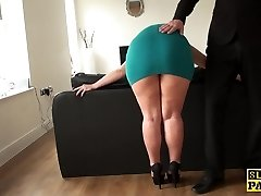 Mature sub assfucked until crimson raw and destroyed