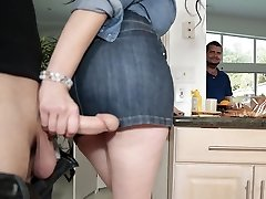 Housewife Elisa Morales covets for a good-sized dick