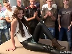 Czech Gangbang Barely Legal Katerina