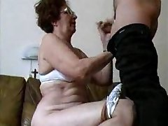 Granny Blow-job