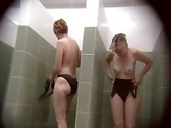 Covert cameras in public pool showers 751