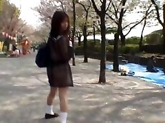 Mikan Amazing Asian college girl enjoys part1