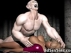 3D Demon and Devils Cum On Babes!