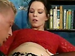 Pregnant Euro doll never gives up her old sexual preferences