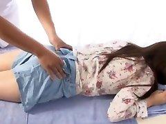 دیوانه, ژاپنی, دختر Yuina کوجیما در داغترین, انگشت, ماساژ, ژاپنی ادلت ویدئو, صحنه
